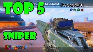 Black Ops 3 - TOP 5 TRICKSHOTS / SNIPER KILLS (Call of Duty Top 5 Trickshots / Top 5 Sniper)