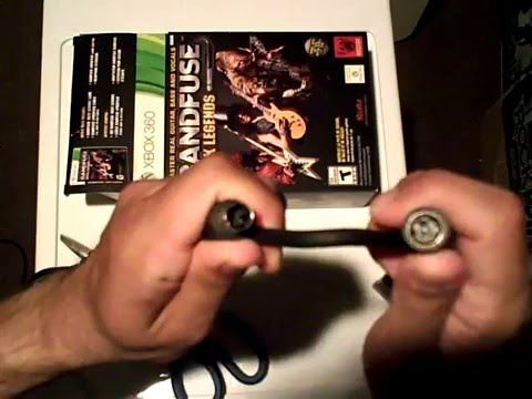 Unboxing of BandFuse Artist Pack on Xbox 360 (including AudioFuse Adapter on