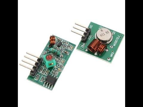 Использование приемника и передатчика на частоте 433MHz в FLProg. (Перезалил)