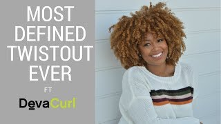 The Most Defined Twistout Ever for 4a/4b hair! + DevaCurl Cyber Monday Deal