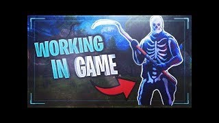 How to get SKULL TROOPER and SCYTHE in Fortnite FOR FREE! (WORKING IN-GAME)