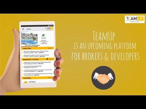 How TeamUP app benefits Real Estate Brokers