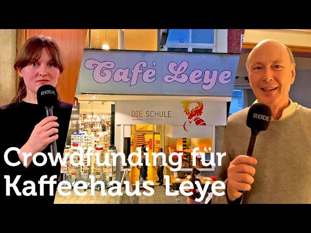 Crowdfunding Kaffeehaus Leye startet im Dezember 2020