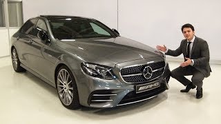 2018 Mercedes AMG E43 4MATIC - FULL E Class Review BRUTAL Start Up Drive Interior Exterior