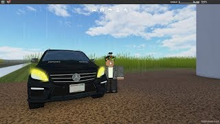 2015 MERCEDES BENZ ML63 V8 TEST DRIVE | Roblox Greenville #1