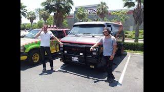 A travers les USA avec le Van de l'Agence Tous Risques - Movie Cars Central ORIGINS