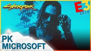 E3 2019 | MICROSOFT PK: Cyberpunk 2077 mit Keanu Reeves, Konsole Project Scarlett, Halo Infinite