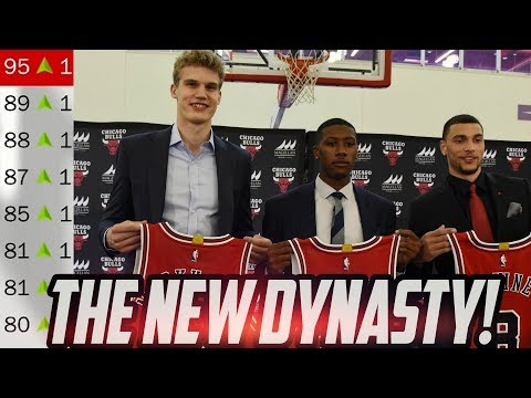 THE NEW DYNASTY! Rebuilding the New Look Bulls! NBA 2K18