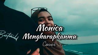 Gambar cover Tegar - Mengharapkanmu Cover by Monica (Lyric Music Video)