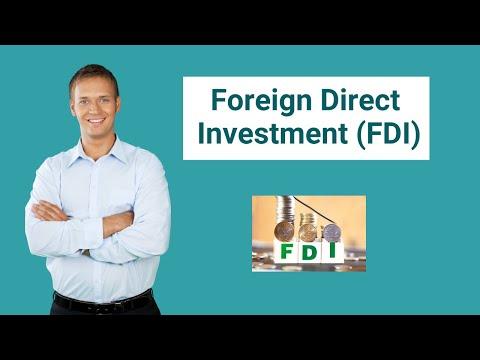 Foreign direct investment definition economics raffaele legnani high capital investments