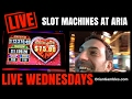 LIVE Slot Machine Play at Aria, Las Vegas! ✦RECORDED LIVE✦ Buffalo, Zeus, Lock it Link and more!