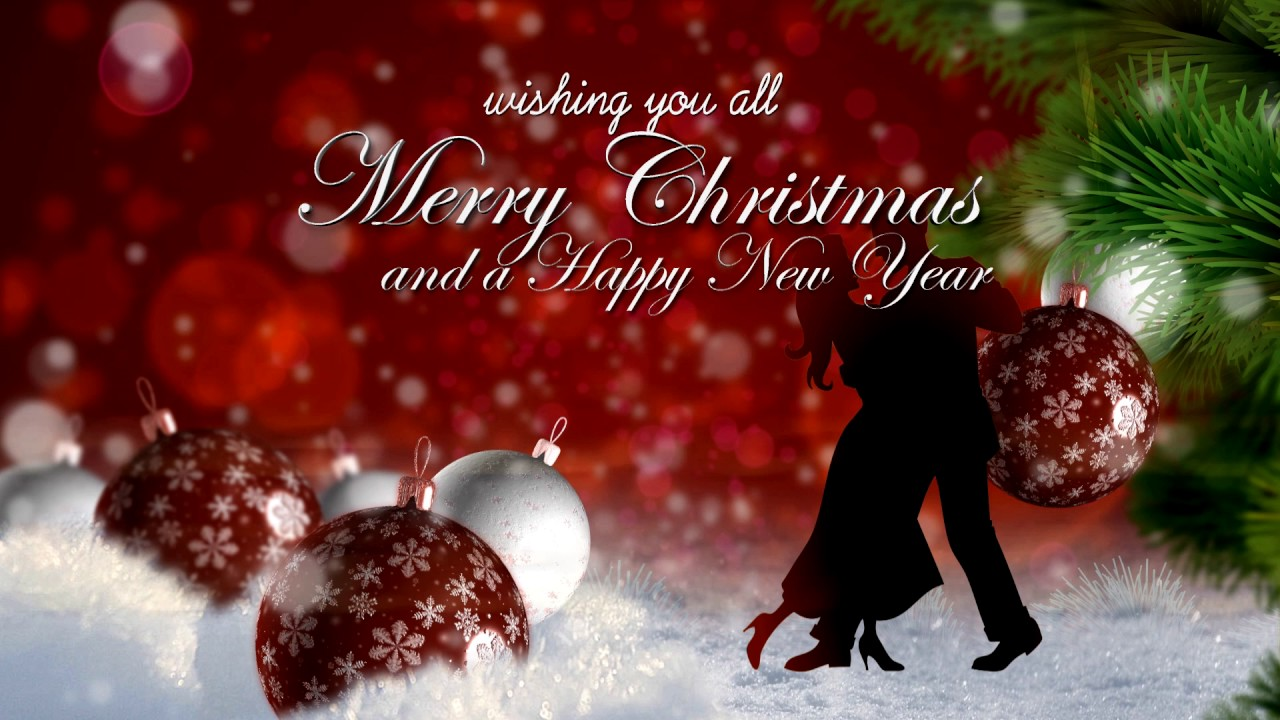 Christmas Greetings To All Our Dancing Friends And Family Youtube