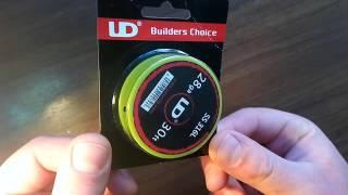 original youde ud ss 316l 28ga resistance wire gearbest com