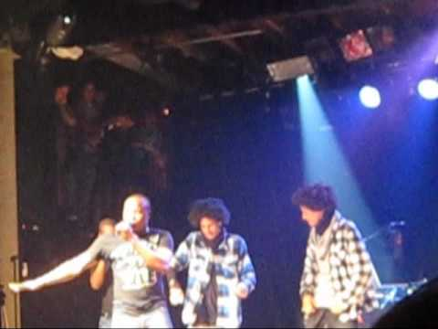 Magic System Live ft. Les Twins in SF (Premier Gaou)
