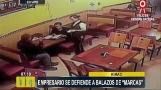 Rímac: empresario se enfrentó a balazos a 'marcas' que iban a asaltarlo (3/3)