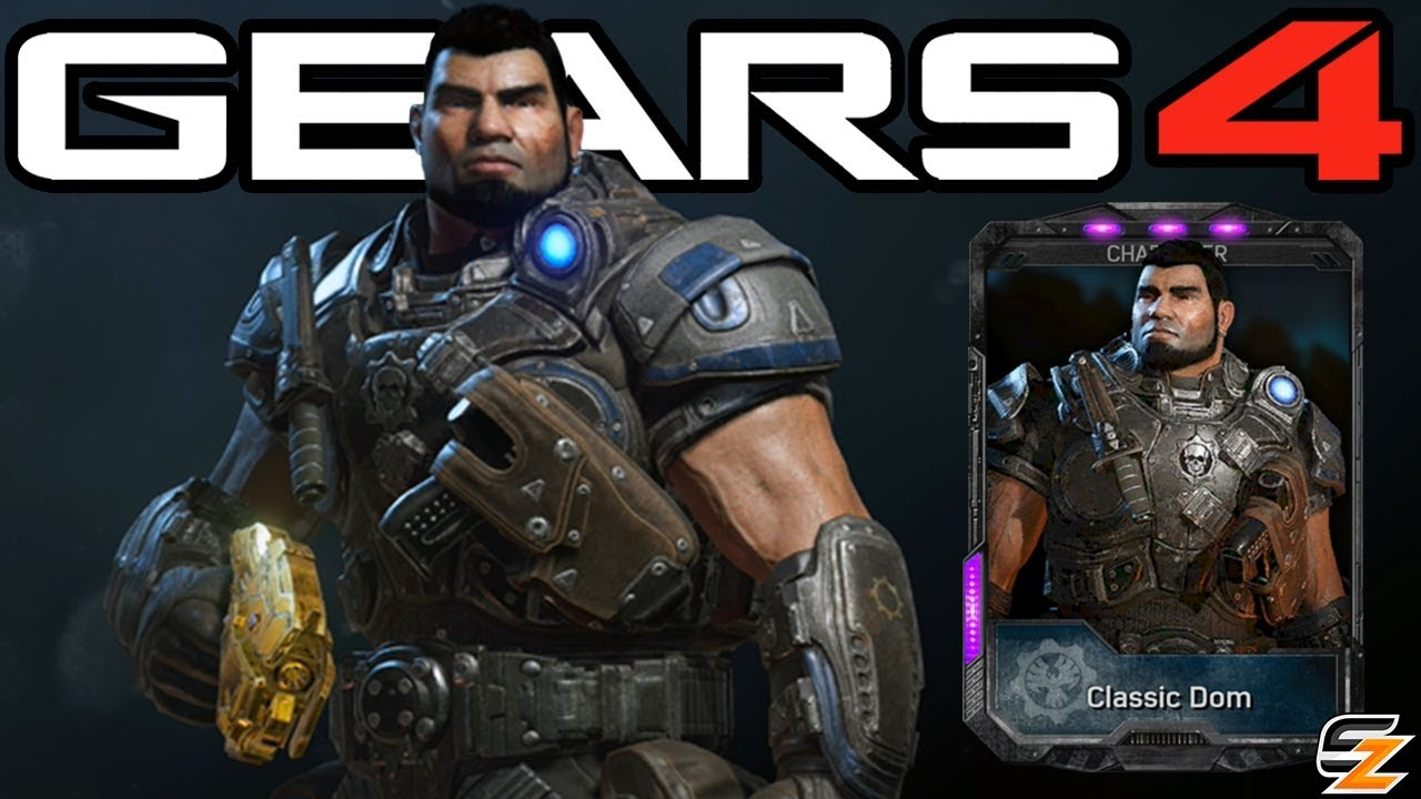 Gears Of War 4 Classic Dom Character Multiplayer Gameplay Youtube