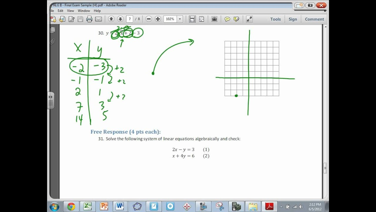 Final Exam Review Packet Solutions Part Ii Youtube Rb20 Wiring Diagram