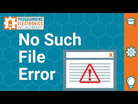 """2 Easy Fixes To Arduino Error: """".h: No Such File Or Directory"""