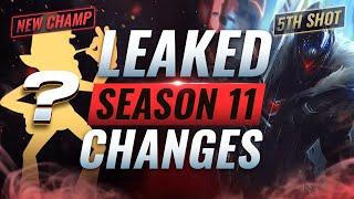 LEAKED SEASON 11 CHANGES: Waluigi + Jhin 5th Shot + ??? - League of Legends