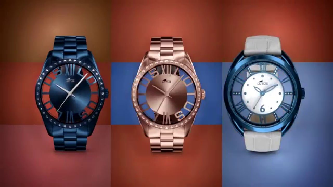 fc4ace5501c9 Relojes Lotus para Mujer para 2018 – Relojesmuyespeciales.com