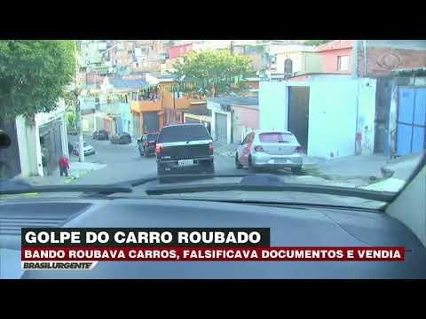 SP: Bando roubava carros e vendia pela internet