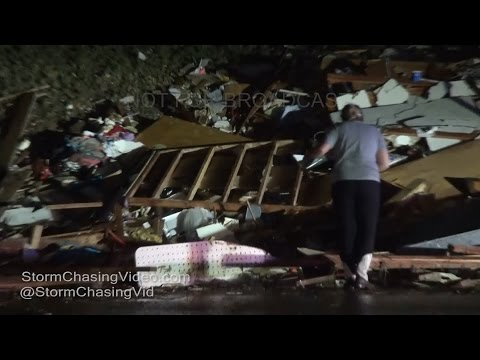 Perryville, MO Tornado And Damage - 2/28/2017
