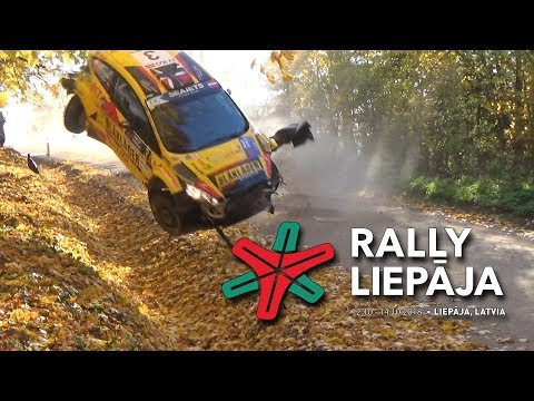 ERC Rally Liepāja 2018 /Actions,Mistakes and Crash/