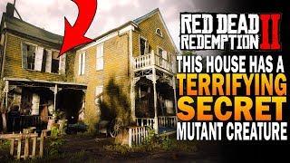 This House Has A Terrifying Secret! Creepy Mutant Creature! Red Dead Redemption 2 Secrets [RDR2]