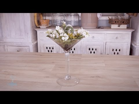 Easter-Themed Martini Glass Floristry Design Tutorial thumbnail