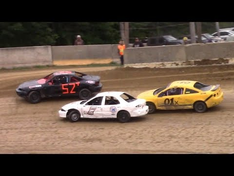 Mini Stock Heat One | Old Bradford Speedway | 9-8-18