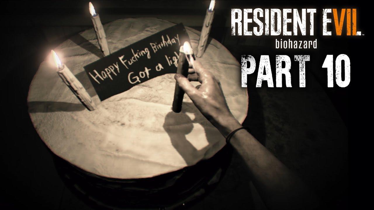 re7 happy birthday Resident Evil 7 Walkthrough Part 10   HAPPY BIRTHDAY #RE7  re7 happy birthday