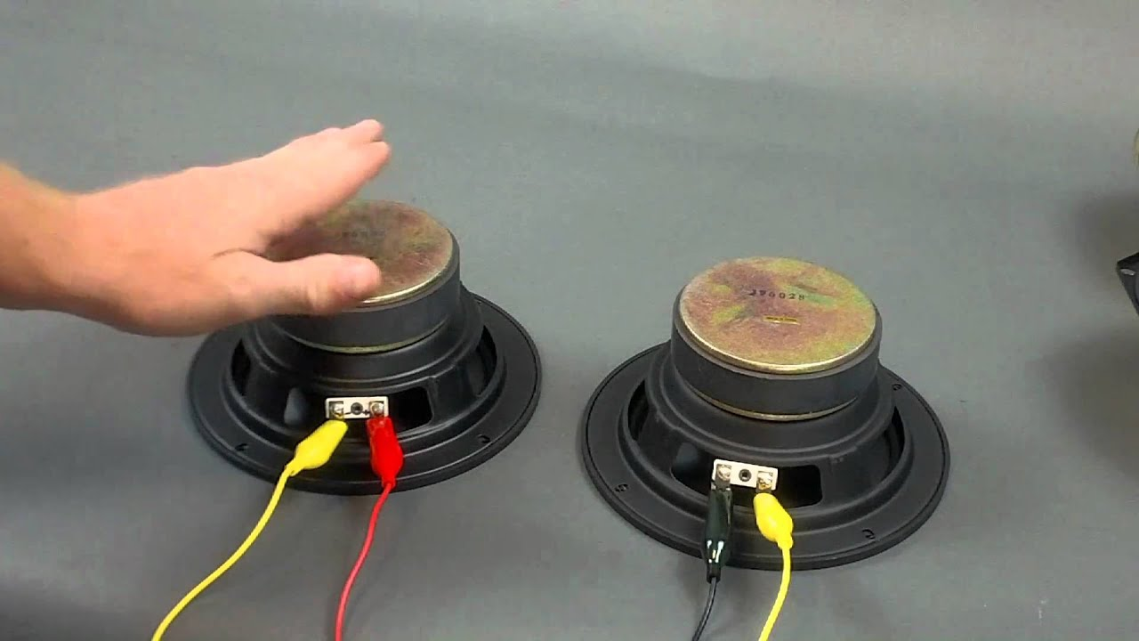 hight resolution of speaker series wiring