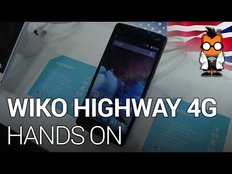 Wiko Highway 4G - Nvidia Tegra 4i Smartphone Hands On