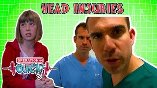 Science for kids | Body Parts - Head Injuries | Experiments for kids | Operation Ouch