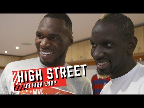High Street or High End? How well do Christian Benteke and Mamadou Sakho know their fashion?