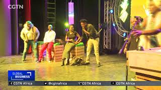 Kenyan entrepreneur earns a living through comedy