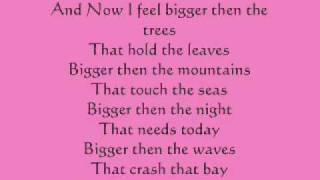 Esmee Denters -Bigger than the world Lyrics