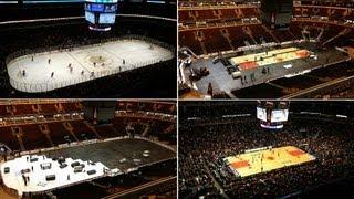 Ice to Hardwood: United Center Photo Timelapse