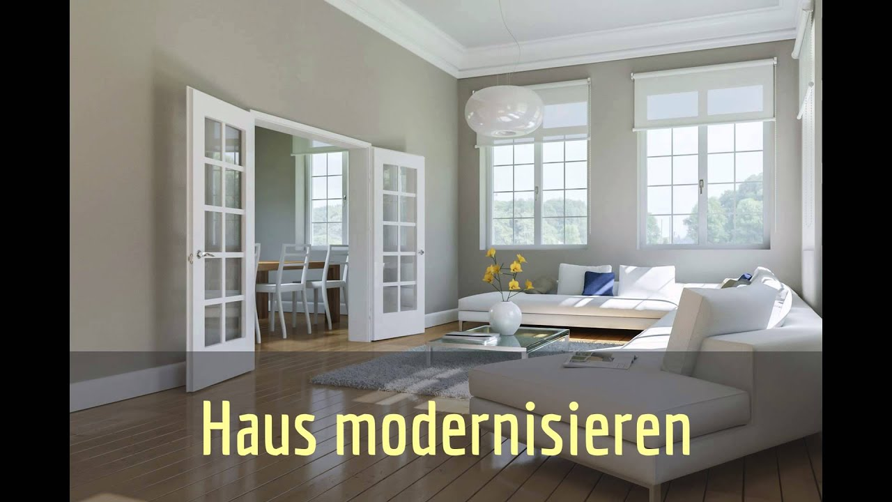 haus modernisieren. Black Bedroom Furniture Sets. Home Design Ideas