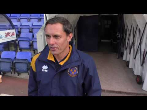 New Shrewsbury Town manager: Paul Hurst interview