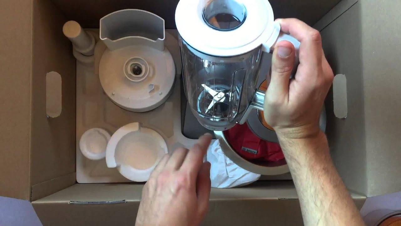 Bosch mum56s40 küchenmaschine styline mum5  Küchenmaschinen Test der Bosch MUM56S40 (Erfahrungsbericht 2015 ...