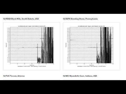 NIBIRU CHANNEL - SEISMIC DEVICES GOING CRAZY ACROSS THE UNITED STATES - SOMETHING IS HAPPENING