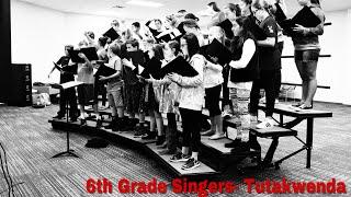 """Tutakwenda"" by Will Lopes - AMS Choir 6th Grade Singers"