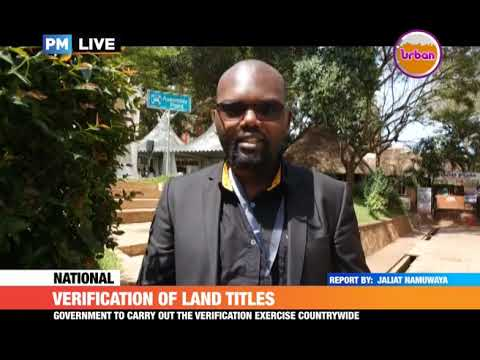 #PMLive: Verification of land titles, ministry of lands has waived fees on land verification