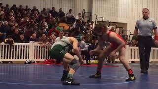 Belvidere's Quinn Melofchik defeats Delbarton's Nico Nardone