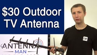 Channel Master STEALTHtenna 50 Mile Outdoor TV Antenna Review