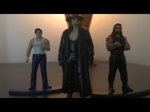Unboxing metal cast WWE figures