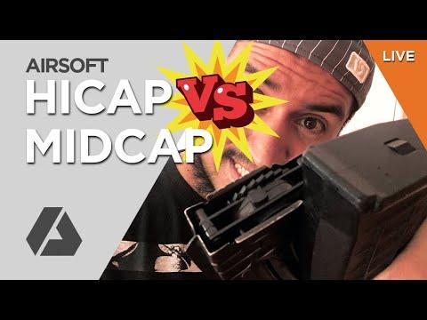 Live: Mid Cap vs High Cap - Que es Mejor? | Airsoft Magazines
