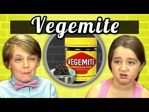 KIDS vs. FOOD #2 - VEGEMITE