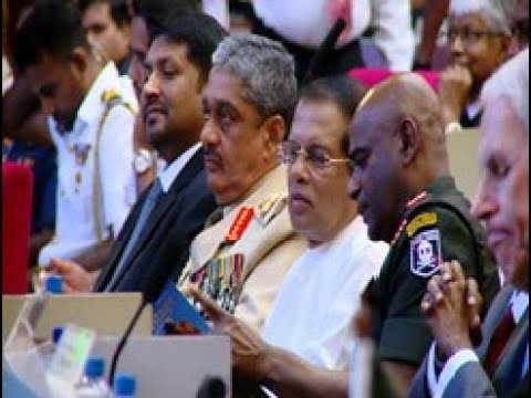 Colombo Defence Seminar 2017 inaugurated by President Sirisena